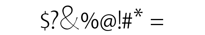 CatrinaDemo Font OTHER CHARS
