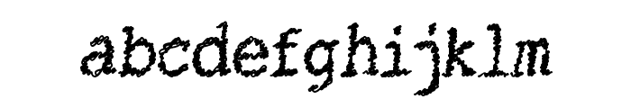 CatsString Font LOWERCASE