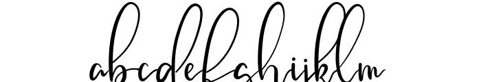 Cattalonia Font LOWERCASE
