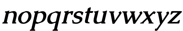 Caudex Bold Italic Font LOWERCASE