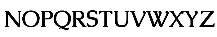 Caudex Bold Font UPPERCASE