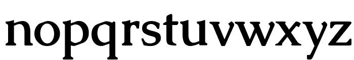 Caudex Bold Font LOWERCASE