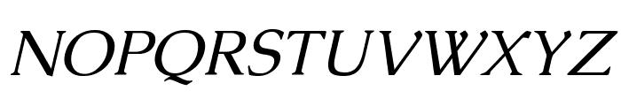 Caudex Italic Font UPPERCASE