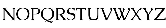 Caudex Font UPPERCASE