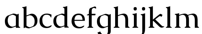Caudex Font LOWERCASE