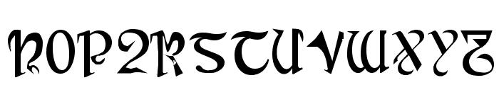 Cauldron Medium Font UPPERCASE