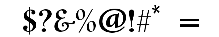 Cavalier Font OTHER CHARS