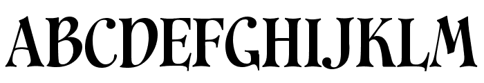 Cavalier Font UPPERCASE