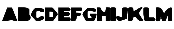 Cave Gyrl Font UPPERCASE