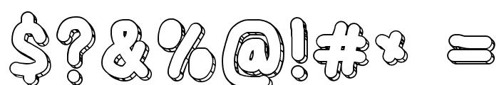 CaveBlanket Font OTHER CHARS