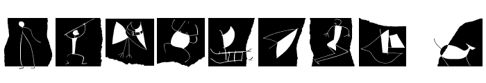 CavePaint Font OTHER CHARS