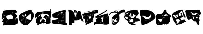 CavePaint Font UPPERCASE
