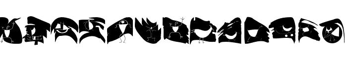 CavePaint Font LOWERCASE