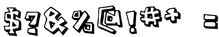 Caveman Regular Font OTHER CHARS