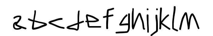 Caveman SemiBold Font LOWERCASE