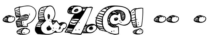 Caveman Font OTHER CHARS