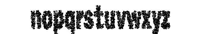 CaviarRancid Font LOWERCASE