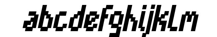 Cayetano Bold Italic Font LOWERCASE