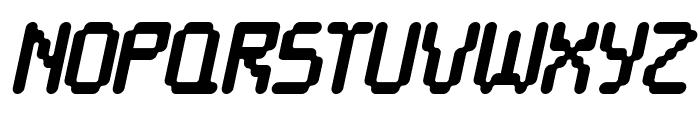 Cayetano Round Bold Italic Font UPPERCASE