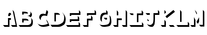 cachetona llena Font UPPERCASE