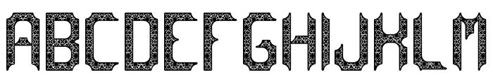 cadabra DEBILEX Font LOWERCASE