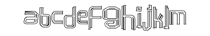caffeen Font LOWERCASE