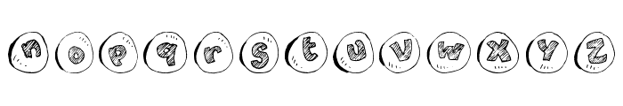 cailloux Font UPPERCASE
