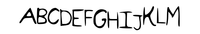 california Font UPPERCASE