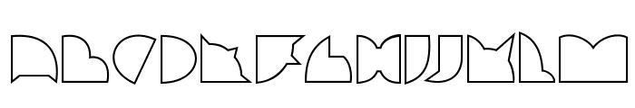 callejera filete filete Font UPPERCASE