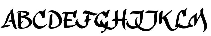 calligraPhillip_TRIAL Font UPPERCASE