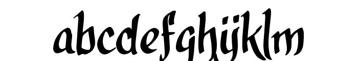 calligraPhillip_TRIAL Font LOWERCASE