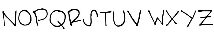 carolyn handwritten Medium Font UPPERCASE