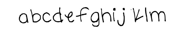 carolyn handwritten Medium Font LOWERCASE