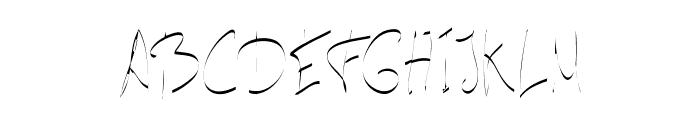 carta-ExtraLight Font UPPERCASE
