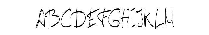 carta-Light Font UPPERCASE