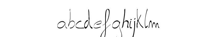 carta-Light Font LOWERCASE