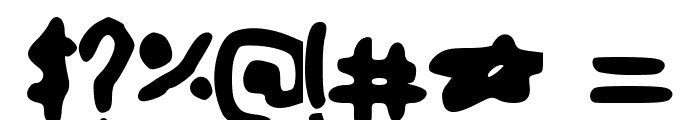 cartoon Font OTHER CHARS
