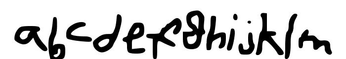 cartoonfont Font LOWERCASE