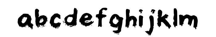 castiel Regular Font LOWERCASE