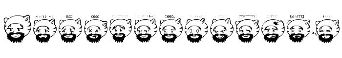 catman Font UPPERCASE