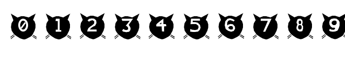 cats-MEOW Font OTHER CHARS