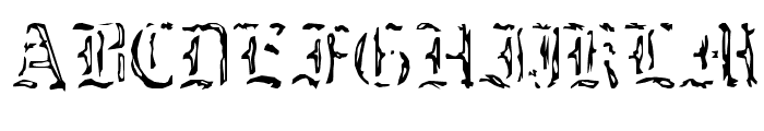 caustic monk Normal Font UPPERCASE