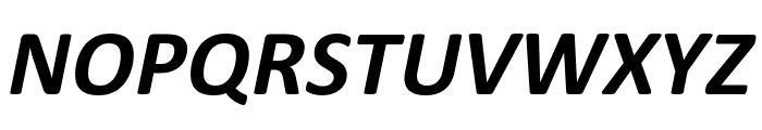 Calibri Bold Italic Font UPPERCASE