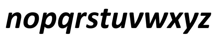 Calibri Bold Italic Font LOWERCASE