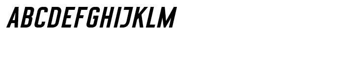 CA Geheimagent Bold It Font UPPERCASE