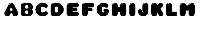 CA Wolkenfluff Gloss Font UPPERCASE