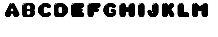 CA Wolkenfluff Gloss Font LOWERCASE