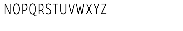 CA Zaracusa Narrow Light Font UPPERCASE