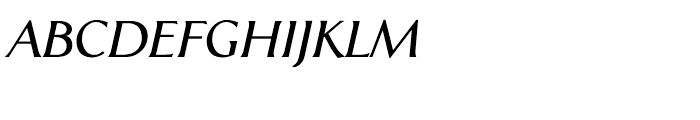 CAL Aperto SemiBold Italic Font UPPERCASE