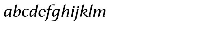 CAL Aperto SemiBold Italic Font LOWERCASE